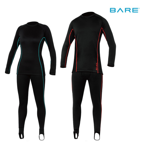 [4880] BARE ULTRAWARMTH BASE LAYER 드라이 슈트 내피