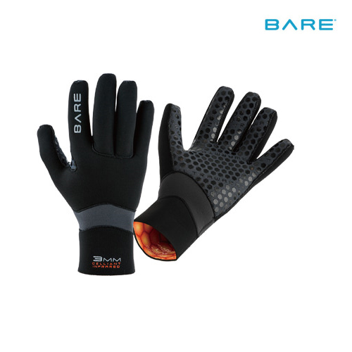 [4883] BARE ULTRAWARMTH GLOVE 다이빙 장갑 글러브 3mm / 5mm